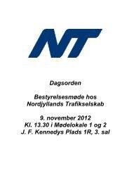 Status for Rejsekortet i Nordjylland - Nordjyllands Trafikselskab