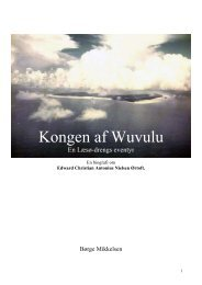 Kongen af Wuvulu En Læsø-drengs eventyr