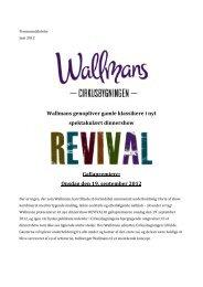 Onsdag den 19. september 2012 - Wallmans