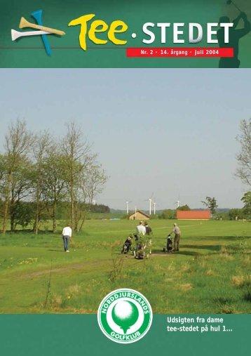 Udsigten fra dame tee-stedet på hul 1... - Norddjurs Golfklub