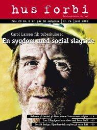 En sygdom med social slagside - Hus Forbi