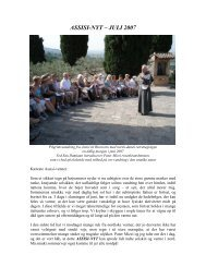 Juli 2007 - Assisi Mission