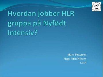 Marit Pettersen og Hege Nilssen - Helse Nord