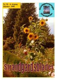 Nr. 38. - 6. årgang Oktober 2008 - Velkommen til Strandgården