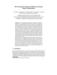 RNA Secondary Structure Prediction via Energy Density ... - LIFL