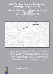 Bygherrerapport_Beretning FHM 5240.indd - Moesgård Museum