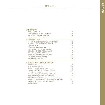 Preise PDF - Hotel Savoy Westend