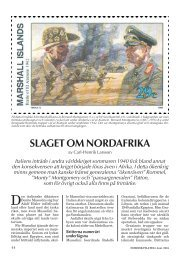 SLAGET OM NORDAFRIKA - Nordisk Filateli