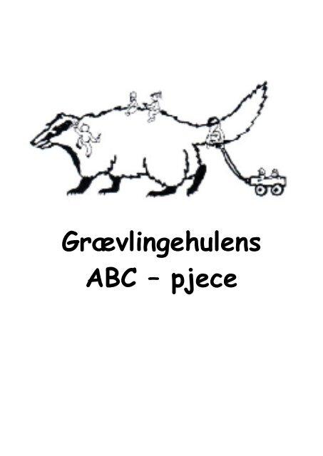 Grævlingehulens ABC – pjece - Børnehaven Filuren