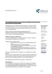 Tilladelse til etablering af gangbro over Holme Å ... - Billund Kommune