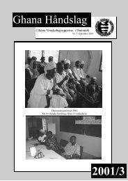 Ghana Håndslag - Ghana Venskabsgrupperne i Danmark