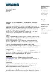 Afgørelse om VVM-pligt.pdf - Frederikshavn Kommune