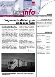 Vognmandsaftalen giver gode resultater - Danish Crown