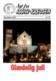 Nr 77 - dec. 2012 - Assisi-Kredsen