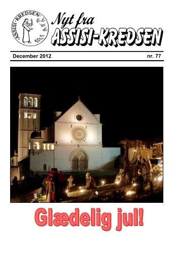 Nr 77 - dec. 2012 - Assisi-Kredsen