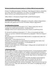 Referat fra bestyrelsesmødet 5. februar 2008 - Vorrevangskolen