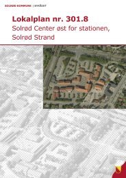 Solrød Center øst for stationen - Solrød Kommune