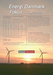 Energi Danmark Fokus uge 13 - 2013