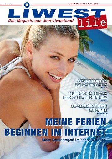 MEINE FERIEN BEGINNEN IM INTERNET MEINE FERIEN - Liwest