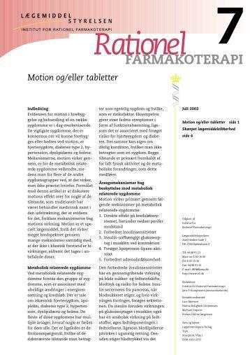 Hele bladet i PDF format - Institut for Rationel Farmakoterapi