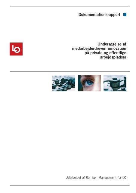 Medarbejderdreven innovation på private og offentlige ... - LO