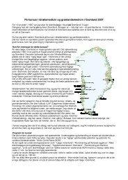 På kursus i idrætsmedicin og grønlandsmedicin i Grønland 2007