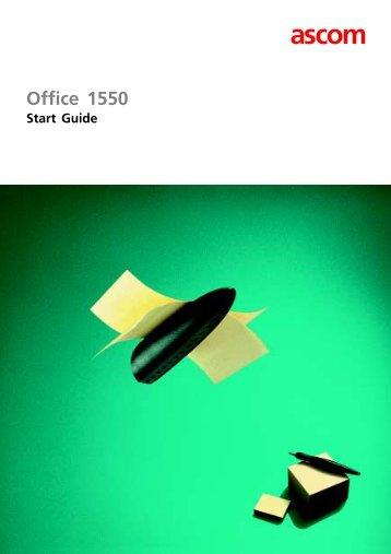 Aastra Office 1560 Startguide - Eiland TeleData