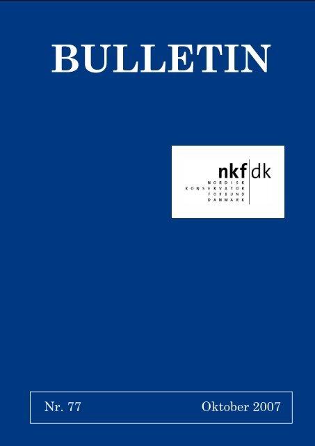 download pdf: 1,4 mb - Nordisk Konservatorforbund Danmark