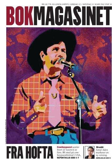 BOKMAGASINET Cowboypoesi samler hvert år ... - Paul Zarzyski