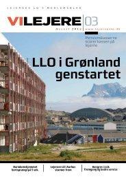 LLO i Grønland genstartet - Lejernes LO