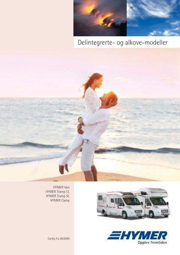 Delintegrerte- og alkove-modeller - Campingferie.dk