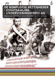 de komplekse rettigheder – essaysamling - Amnesty International