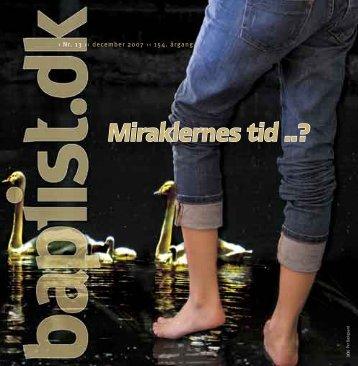 Nr. 13 - 2007 - Baptistkirken i Danmark