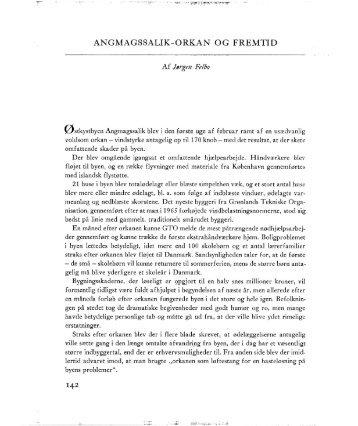 ANGMAGSSALIK-ORKAN `OG FREMTID - Tidsskriftet Grønland