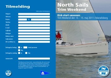 Se invitationen her - North Sails