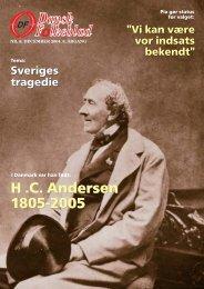 H .C. Andersen 1805-2005 H .C. Andersen 1805 ... - Dansk Folkeparti