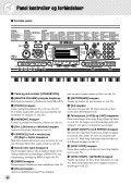 1 Vælg en af Lesson melodierne. - Yamaha - Page 6
