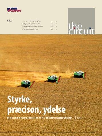 the circuit Styrke, præcison, ydelse - Sauer-Danfoss