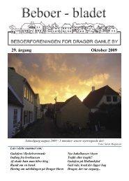 Beboerblad 1, 2009 - Beboerforeningen for Dragør Gamle By