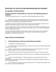Europarådets resolution