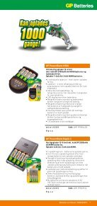 GP Batteries sortimentsguide - Page 7
