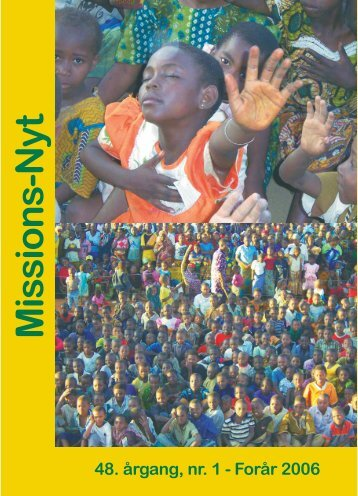 Missions-Nyt nr. 1 - 2006 med billeder - Missionsfonden