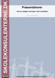 Præsentationer i Open- og LibreOffice - skolekonsulenterne