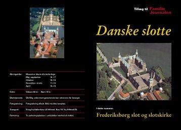 Frederiksborg slot og slotskirke - my-design.dk