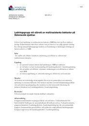 ledningsgrupp utbrott MRB.pdf - Jämtlands läns landsting