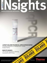 Latest soLaris technicaL/appLication notes Including Detection of ...