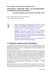Rapport - spirituel del om videnskultur 2010