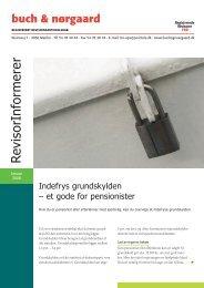 REGISTRERET REVISIONSAKTIESELSKAB - Buch