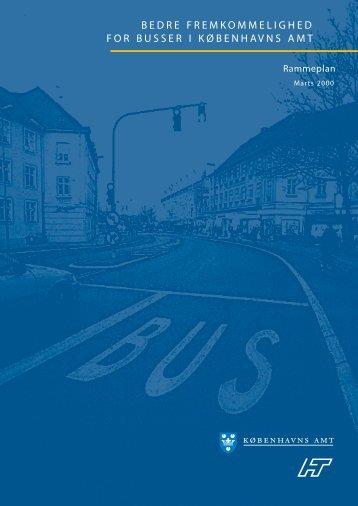 bedre fremkommelighed for busser i københavns amt - Movia