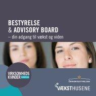 Bestyrelse & Advisory BoArd
